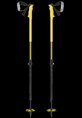 Batons de skis de randonnée ZAG jaune