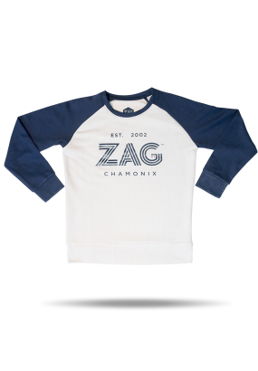 SWEAT KID WHITE / NAVY