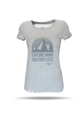 T-SHIRT women HEATHER GREY