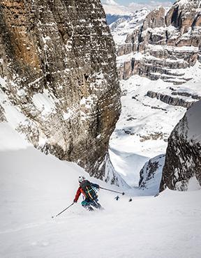 Massif de Brenta : une virée ski en Italie pour gravir la Cima Tosa - Canalone Neri