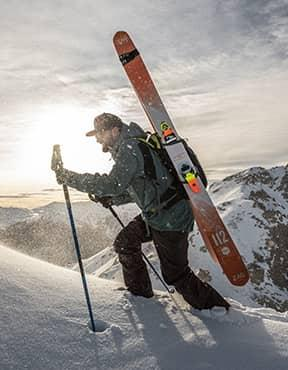 Nouvelle gamme SLAP: skis freeride et freerando