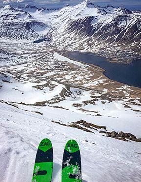 """Découvrez l'Islande en ski de rando avec """"On n'est pas que des collants"""""""