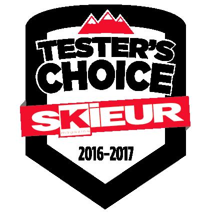 Skieur Tester's choice 2016-2017